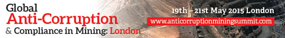 Global Anti-Corruption & Compliance in Mining Banner 560x75 Static