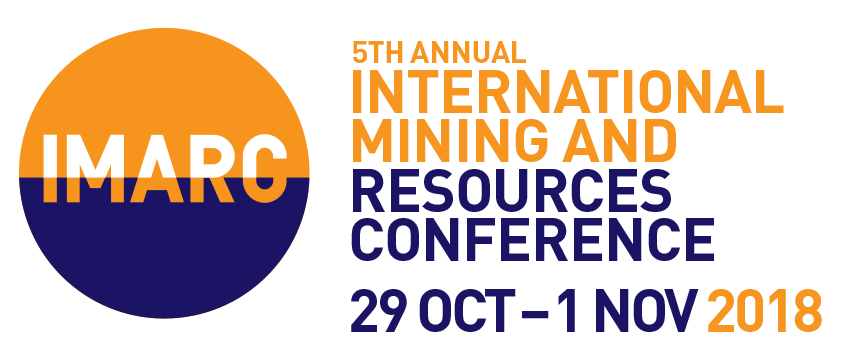 International Mining and Resources Conference IMARC 2018